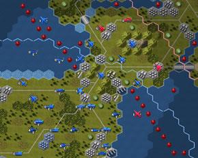 国境線と機雷・地雷の追加
