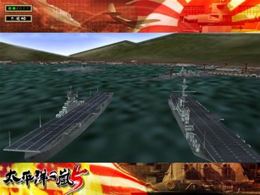 多彩な戦闘パターンによる迫力の3D戦闘!