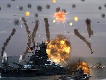 悲運の戦艦「大和」の活躍を堪能できるゲーム性